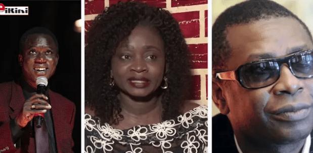 Ndeye Kassé entre Youssou Ndour et Thione Seck
